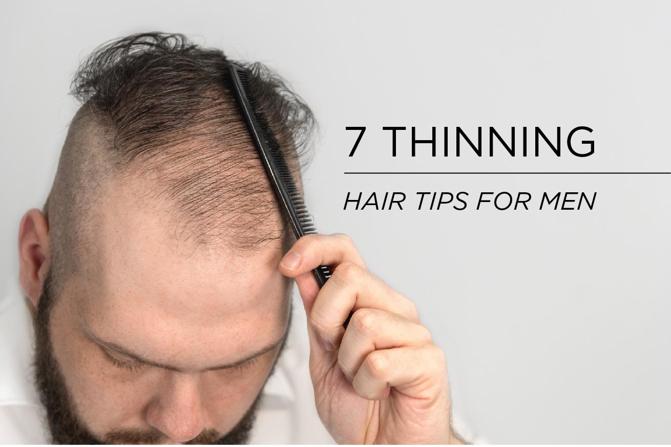 En 7 Thinning Hair Tips For Men To Avoid Young Baldness Hairatin