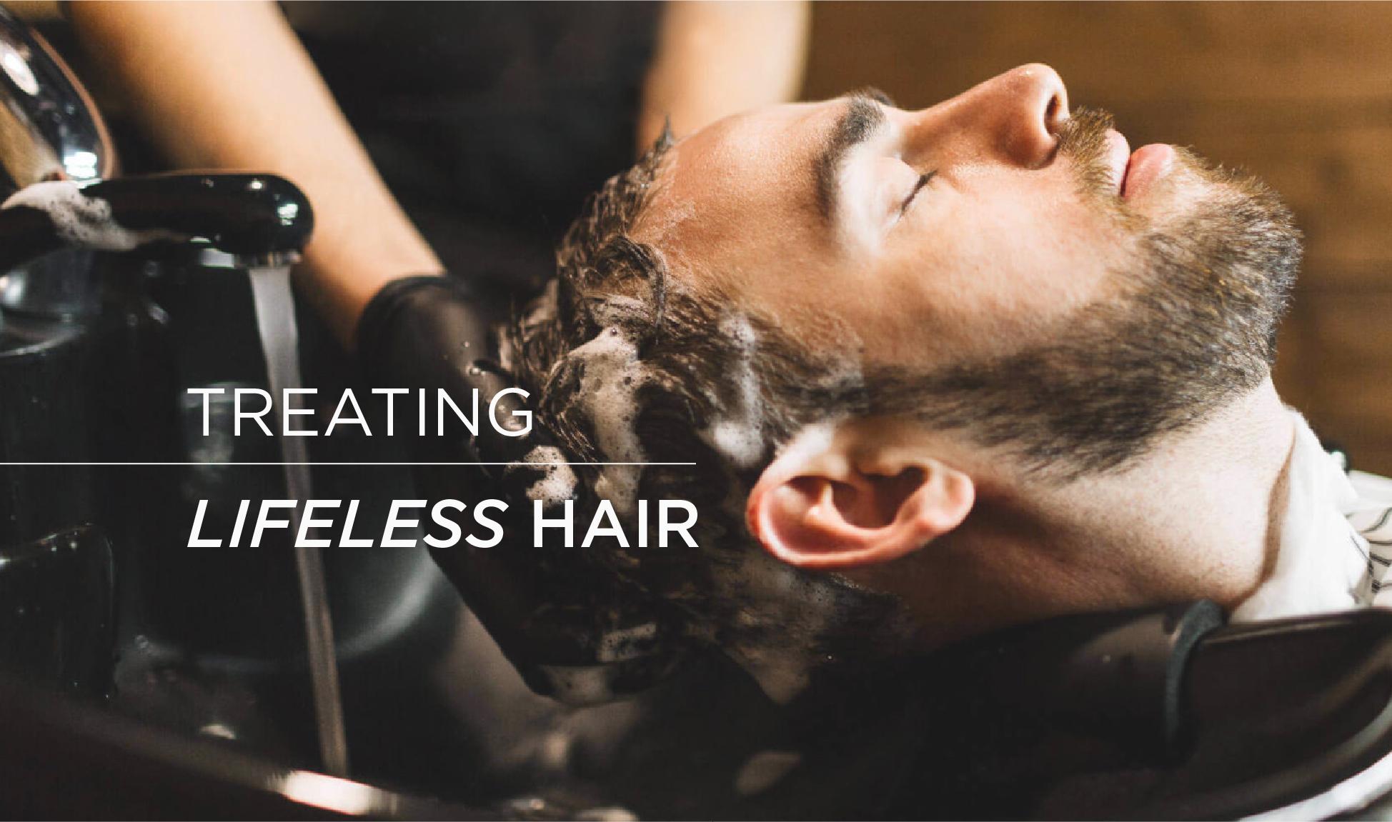 Clarifying shampoo for lifeless hair