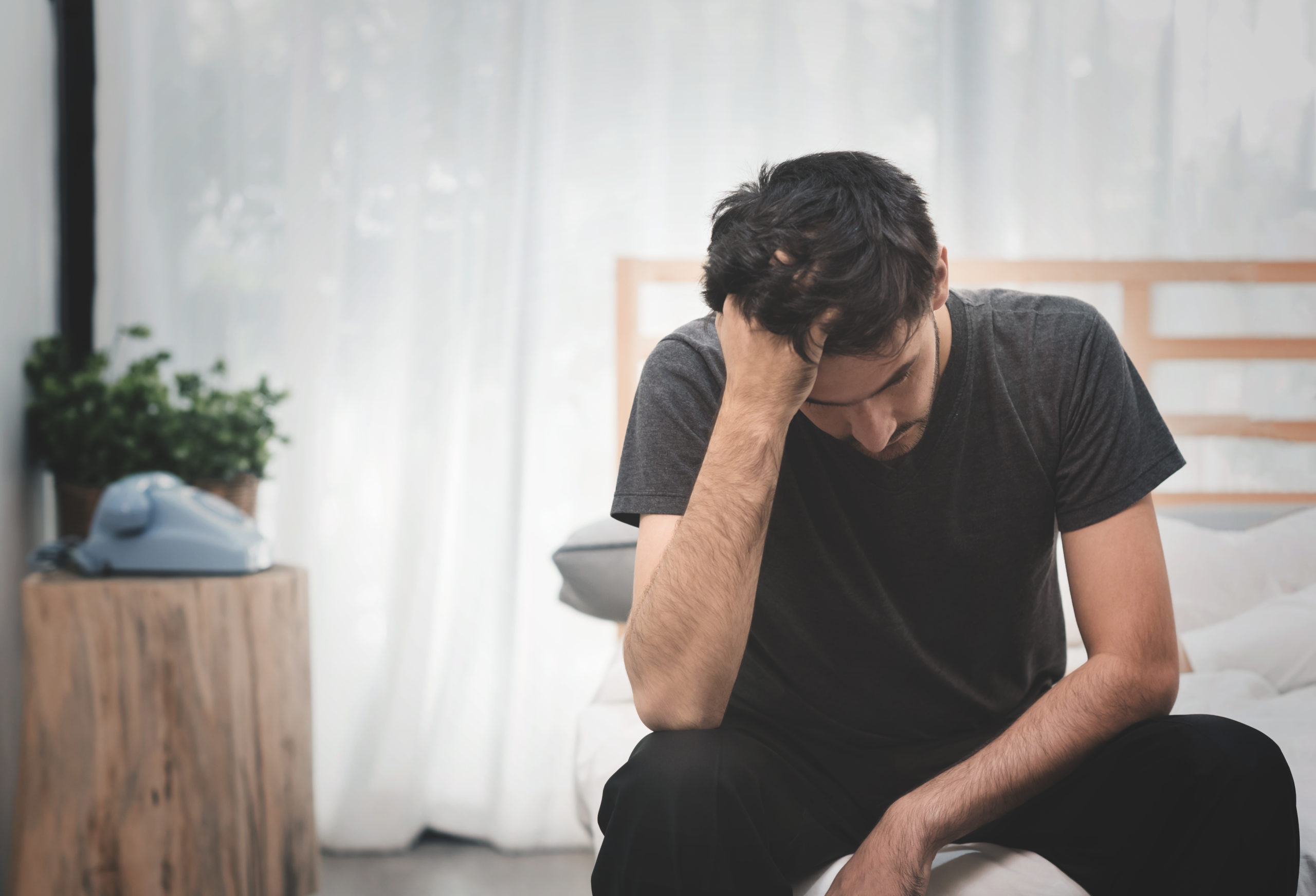 High stress levels can cause hair loss